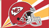 Kansas City Chiefs 3 Ft. x 5 Ft. Flag w/Grommets