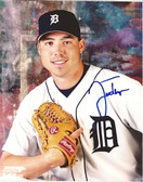 Justin Thompson Detroit Tigers Signed 8x10 Photo #2