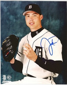 Justin Thompson Detroit Tigers Signed 8x10 Photo