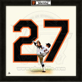 Juan Marichal San Francisco Giants 20x20 Framed Uniframe Jersey Photo