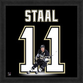Jordan Staal Pittsburgh Penguins 20x20 Framed Uniframe Jersey Photo