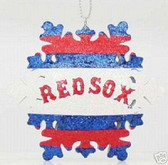 Johnny Damon Boston Red Sox Snowflake Ornament