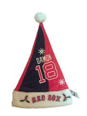 Johnny Damon Boston Red Sox Santa Hat