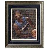 John Wall Framed 16x20 Mosaic