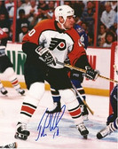 John LeClair Philadelphia Flyers Signed 8x10 Photo