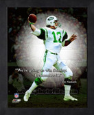 Joe Namath New York Jets 8x10 ProQuote Photo