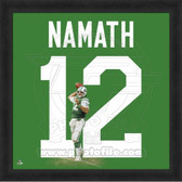 Joe Namath New York Jets 20x20 Framed Uniframe Jersey Photo