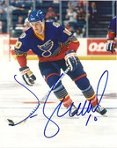 Jim Campbell St. Louis Blues Signed 8x10 Photo