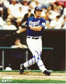 Jeremy Giambi Kansas City Royals Signed 8x10 Photo #2