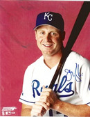 Jeremy Giambi Kansas City Royals Signed 8x10 Photo #1