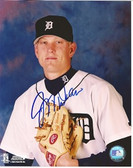 Jeff Weaver Detroit Tigers Signed 8x10 Photo #6