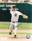 Jeff Weaver Detroit Tigers Signed 8x10 Photo #4