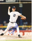 Jeff Weaver Detroit Tigers Signed 8x10 Photo #2