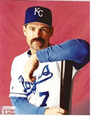Jeff King Kansas City Royals 8x10 Photo #1