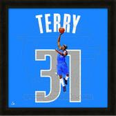 Jason Terry Dallas Mavericks 20x20 Framed Uniframe Jersey Photo