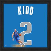 Jason Kidd Dallas Mavericks 20x20 Framed Uniframe Jersey Photo