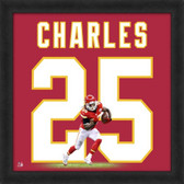 Jamaal Charles Kansas City Chiefs 20x20 Framed Uniframe Jersey Photo