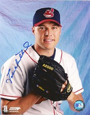 Jake Westbrook Cleveland Indians Signed 8x10 Photo