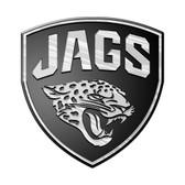 Jacksonville Jaguars Silver Auto Emblem