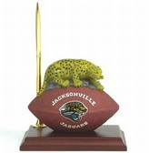 Jacksonville Jaguars Desk Clock & Pen Set