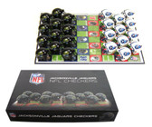 Jacksonville Jaguars Checker Set