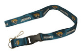 Jacksonville Jaguars Breakaway Lanyard with Key Ring