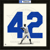 Jackie Robinson Los Angeles Dodgers 20x20 Framed Uniframe Jersey Photo