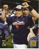 Ivan Rodriguez Detroit Tigers ALCS Champs 8x10 Photo