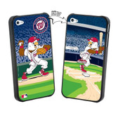 Iphone 5 MLB Washington Nationals Mascot Lenticular Case
