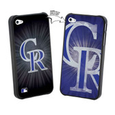 Iphone 5 MLB Colorado Rockies Large Logo Lenticular Case