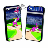 Iphone 5 MLB Cleveland Indians Mascot Lenticular Case
