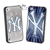 Iphone 4/4S MLB NY Yankees Large Logo Lenticular Case