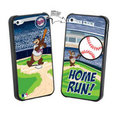 Iphone 4/4S MLB Minnesota Twins Mascot Lenticular Case