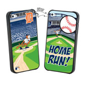 Iphone 4/4S MLB Detroit Tigers Mascot Lenticular Case