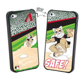 Iphone 4/4S MLB Arizona Diamondbacks Mascot Lenticular Case