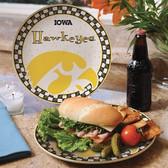 Iowa Hawkeyes Gameday Ceramic Plate