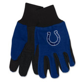 Indianapolis Colts Two Tone Gloves