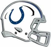 Indianapolis Colts Auto Emblem - Helmet