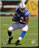 Indianapolis  Colts Jack Doyle 2014 Action 16x20 Stretched Canvas