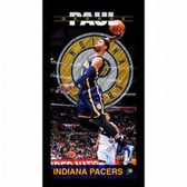 Indiana Pacers Paul George Player Profile Wall Art 9.5x19 Framed Photo