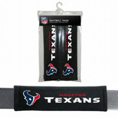 Houston Texans Velour Seat Belt Pads