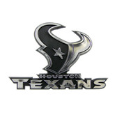 Houston Texans Silver Auto Emblem