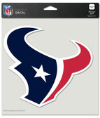 "Houston Texans Die-Cut Decal - 8""x8"" Color"