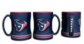 Houston Texans Coffee Mug - 15oz Sculpted 4675710531