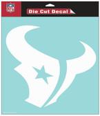 """Houston Texans 8""""x8"""" Die-Cut Decal"""