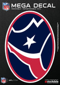 "Houston Texans 5""x7"" Mega Decal"