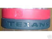 Houston Texans 3 Pack Wristband Set