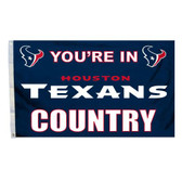 Houston Texans 3 Ft. X 5 Ft. Flag W/Grommets