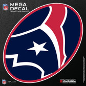 "Houston Texans 12""x12"" Mega Decal"