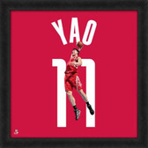Houston Rockets Yao Ming 20X20 Framed Uniframe Jersey Photo